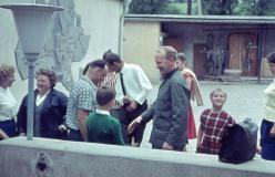 1966 in Roßbach mit Pfarrer Krause