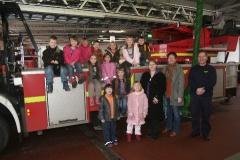2009 Bei der Feuerwache